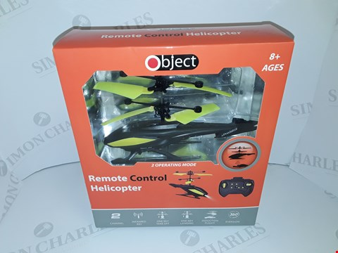 Lot 12095 LOT OF 12 BOXED AS NEW OBJECT REMOTE CONTROL HELICOPTERS