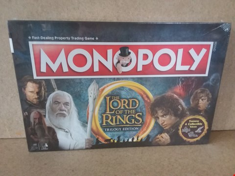 Lot 59 BRAND NEW BOXED LORD OF THE RINGS TRILOGY EDITION MONOPOLY PROPERTY TRADING GAME.