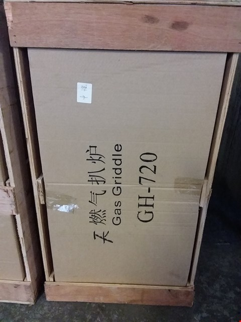 Lot 2141 BOXED GH-720 COMMERCIAL GAS GRIDDLE