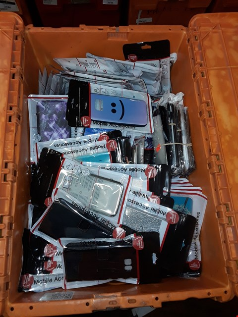 Lot 224 2 BOXES OF ASSORTED BRAND NEW MOBILE PHONE CASES (BOXES NOT INCLUDED)