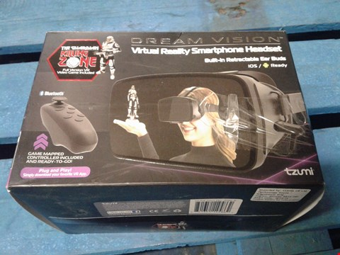 Lot 993 LOT OF 4 DREAM VISION VIRTUAL REALITY SMARTPHONE HEADSETS