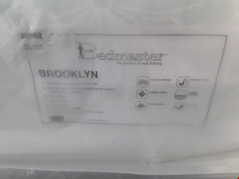 Lot 7 QUALITY BAGGED BEDMASTER BROOKLYN 5' KING SIZE MATTRESS