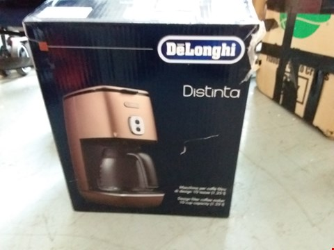 Lot 67 BOXED DELONGHI DISTINTA COFFEE MACHINE