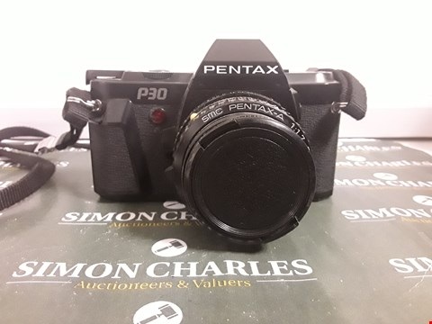 Lot 230 PENTAX P30 35MM FILM CAMERA WITH PENTAX 50MM LENS