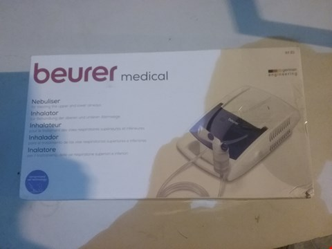 Lot 2793 BEURER MEDICAL INHALATOR