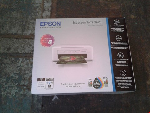 Lot 11111 LOT OF 4 EPSON HOME XP-257 PRINTERS