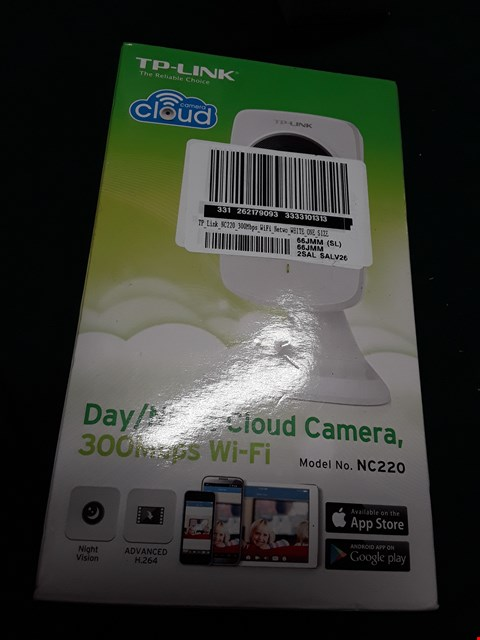 Lot 1044 TP LINK NC220 300MBPS WIFI DAY/NIGHT CLOUD CAMERA RRP £65