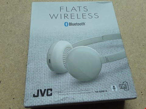 Lot 19 BOXED JVC FLATS WIRELESS HEADPHONES