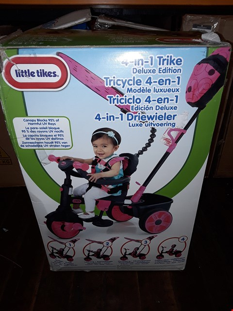 Lot 804 4 IN 1 DELUXE EDITION TRIKE  RRP £110