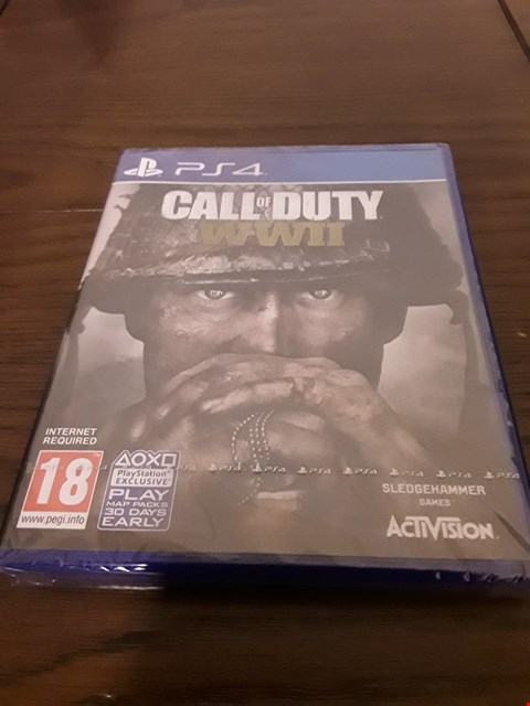 Lot 1007 CALL OF DUTY WWII PLAYSTATION 4 GAME
