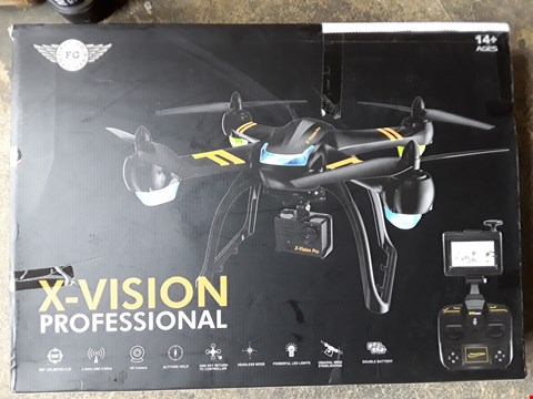 Lot 7413 X-VISION PROFESSIONAL DRONE WITH HD CAMERA