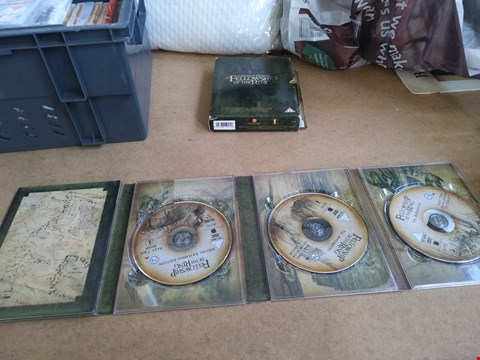 Lot 2563 THE LORD OF THE RINGS THE FELLOWSHIP OF THE RING SPECIAL EXTENDED DVD EDITION