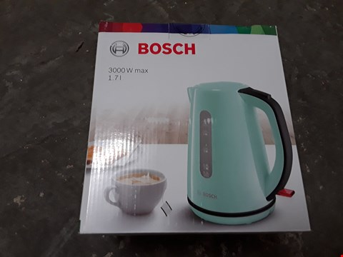 Lot 637 BOSCH 3000W 1.7L KETTLE - MINT