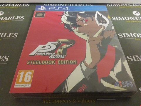 Lot 1058 PERSONA 5 ROYAL PLAYSTATION 4 GAME