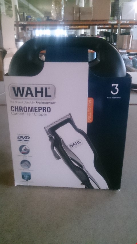 Lot 5501 WAHL CHROMEPRO CORDED HAIR CLIPPERS