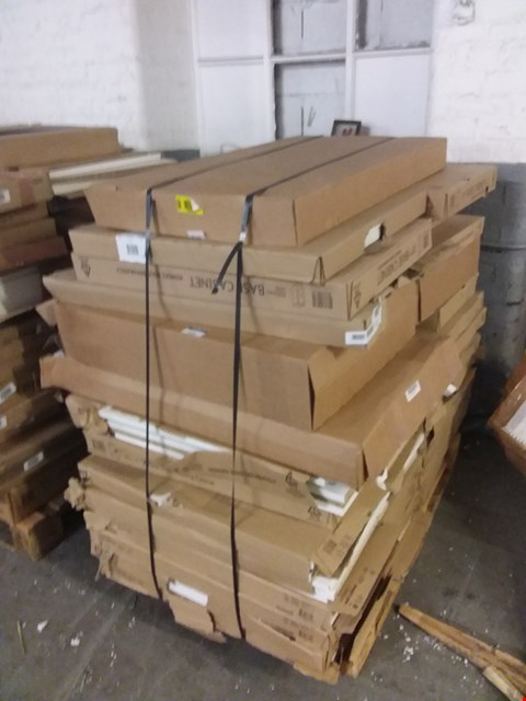 Lot 3516 PALLET OF ASSORTED FLAT PACK KITCHEN ITEMS