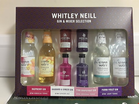 Lot 1369 WHITLEY NEIL GIN & MIXER SELECTION