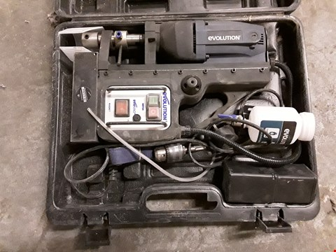 Lot 341 EVOLUTION MAGNETIC PILLAR DRILL WITH CASE