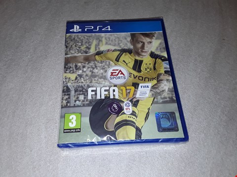 Lot 6442 BRAND NEW FIFA 17 FOR PS4 RRP £59.00