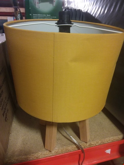 Lot 2184 GRADE 1 THEO TRIPOD TABLE LAMP RRP £40.00