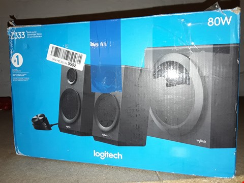 Lot 12457 LOGITECH Z333 MULTIMEDIA SPEAKERS