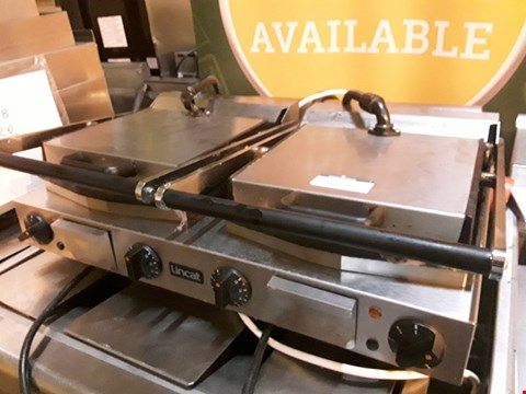 Lot 3011 LINCAT DOUBLE ELECTRIC PANINI/CONTACT GRILL