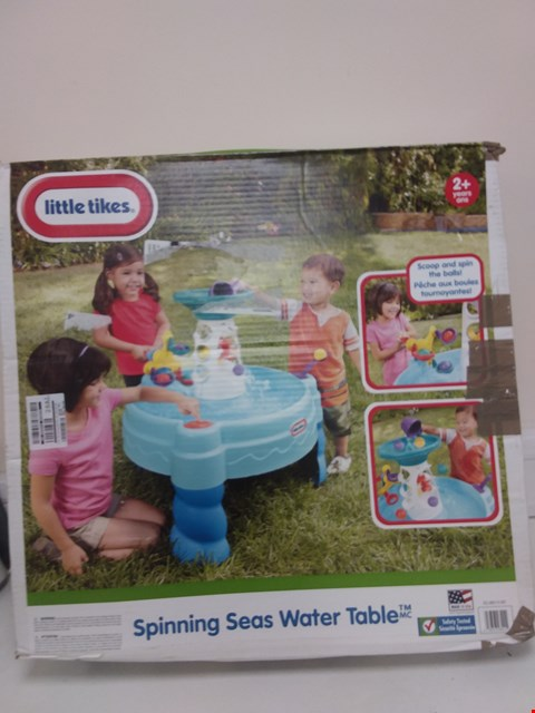 Lot 9071 LITTLE TIKES SPINING SEAS WATER TABLE  RRP £56.99