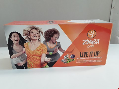 Lot 27 BRAND NEW ZUMBA GOLD LIVE IT UP EXERCISE SET