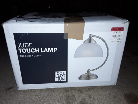 Lot 227 BOXED HOME COLLE TION JUDE LAMP