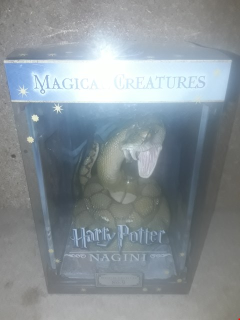 Lot 673 BOXED BRAND NEW HARRY POTTER MAGICAL CREATURES NO.9 NAGINI