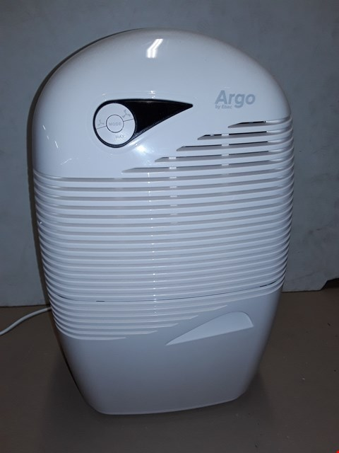 Lot 8045 UNBOXED ARGO BY EBAC DEHUMIDIFIER