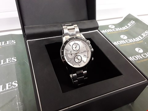 Lot 2002 HUGO BOSS CHRONOGRAPH WATCH WITH STOPWATCH FUNCTION