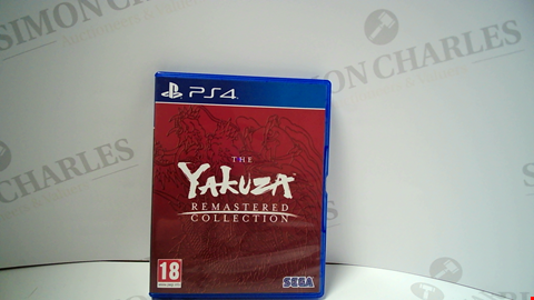 Lot 18007 THE YAKUZA REMASTERED COLLECTION PLAYSTATION 4 GAME