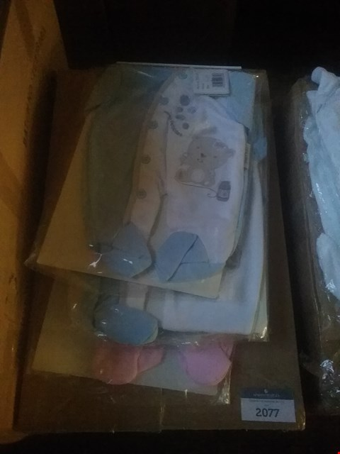 Lot 2077 BOX OF APPROXIMATELY 8 BABY GROWS BY TINY ME RRP £48