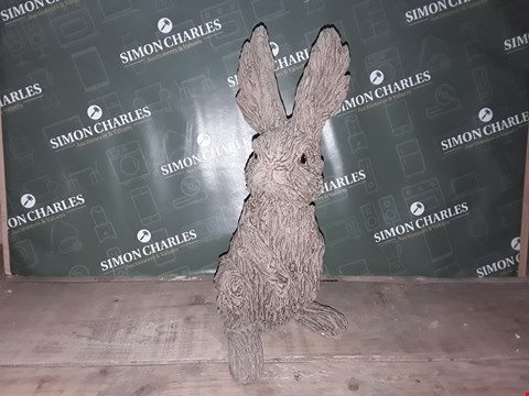 Lot 7134 BOXED DECORATIVE ORNAMENTAL RABBIT