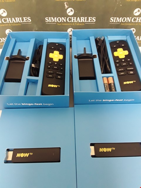Lot 231 TWO BOXED NOW TV SMART STICKS