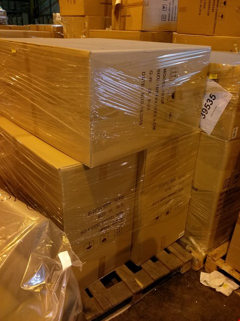 Lot 99 PALLET OF 3 BRAND NEW VOSS 1010 FLOOR MOUNTED DOOR AND DRAWER UNITS