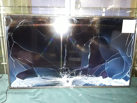 "Lot 9384 SHARP 49"" 4K HD SMART LED TV (DAMAGED SCREEN) RRP £480"