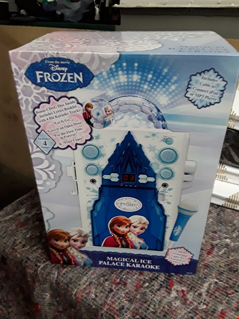 Lot 49 BRAND NEW DISNEY FROZEN MAGICAL ICE PALACE KARAOKE