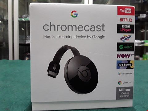 Lot 1083 GOOGLE CHROMECAST  RRP £39.99