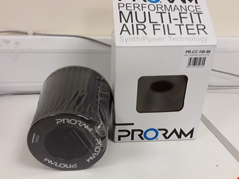 Lot 11 BOXED & SEALED PRORAM PERFORMANCE MULTI FIT AIR FILTER PR-CC-150-80