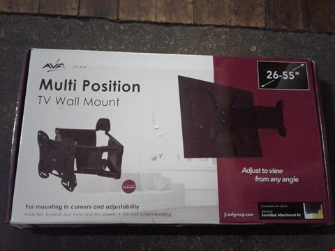 Lot 2091 AVF MULTI POSITION TV WALL MOUNT
