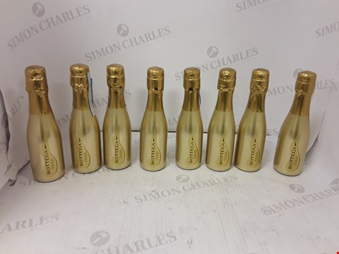 Lot 9038 BOTTEGA GOLD PROSECCO 8 SET RRP £75.99