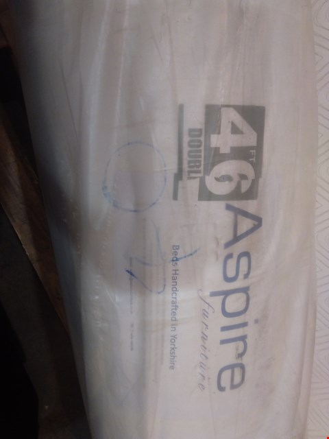 """Lot 578 QUALITY BAGGED AND ROLLED ASPIRE 4'6"""" MATTRESS"""