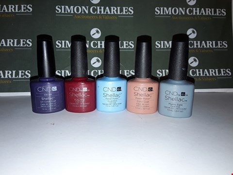 Lot 8 LOT OF 5 ASSORTED CND SHELLAC