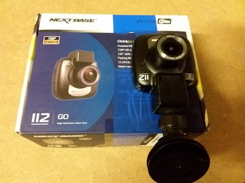 Lot 898 NEXT BASE 112 DASH CAM