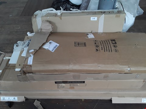 Lot 119 LOT OF 6 ASSORTED FLAT PACK FURNITURE PARTS