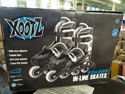 Lot 6375 BOXED BRAND NEW XOOTZ INLINE SKATE BLUE  RRP £34.99