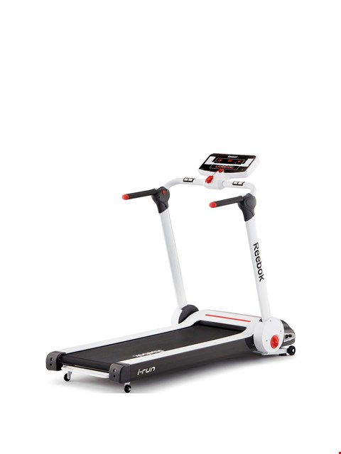 Lot 6028 BOXED REEBOK I RUN TREADMILL (1 BOX) RRP £889.99