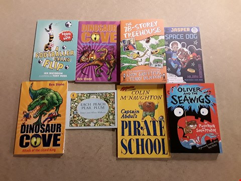 Lot 488 LOT OF APPROXIMATELY 14 ASSORTED CHILDREN'S BOOKS TO INCLUDE THE WORLD'S WORST CHILDREN BY DAVID WALLIAMS, THE TALES OF BEEDLE THE BARD BY J.K. ROWLING, POOH INVENTS A NEW GAME BY A.A. MILNE ETC